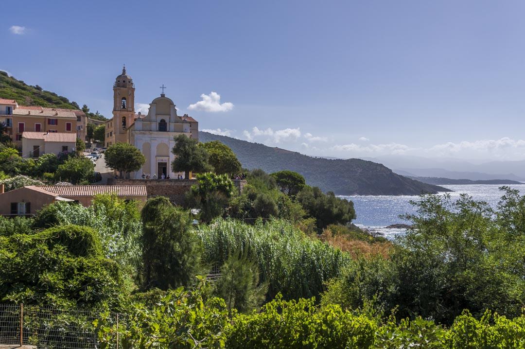 le village de Carghèse en Corse