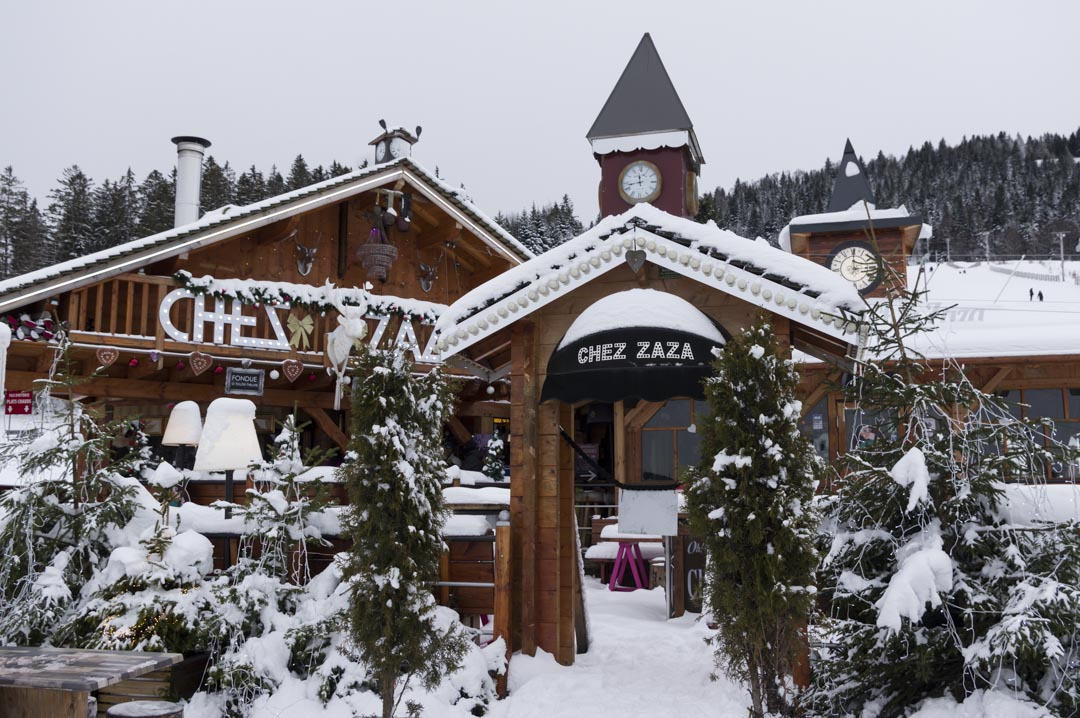 restaurant des pistes Chez Zaza à Metabief