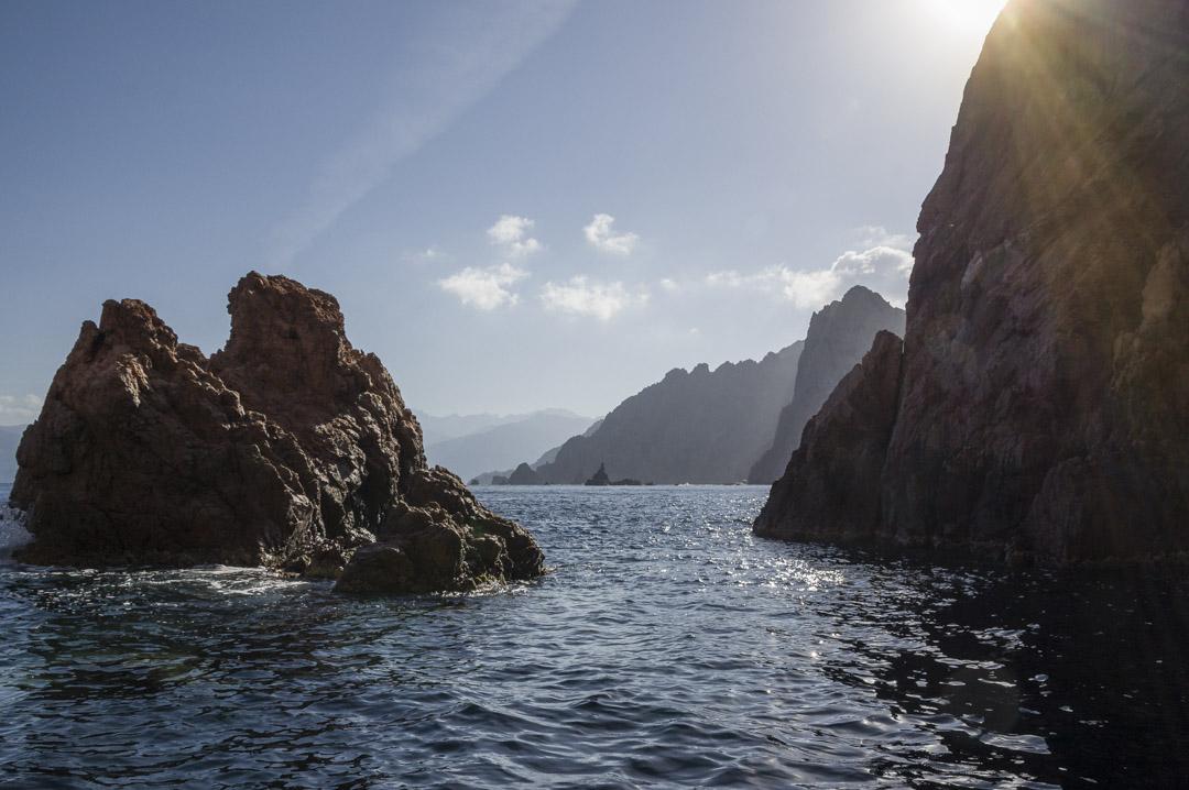 croisière dans le Golfe de Porto en Corse