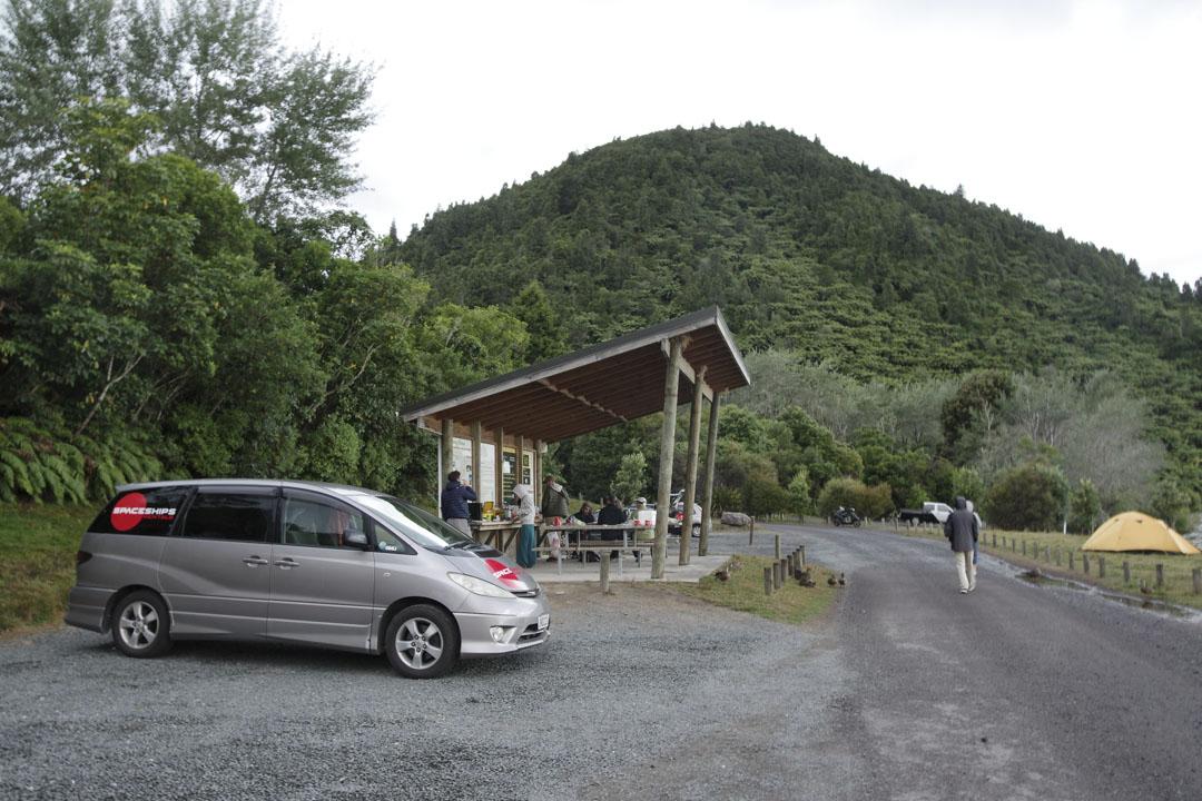 Camping DOC du Lac Okareka
