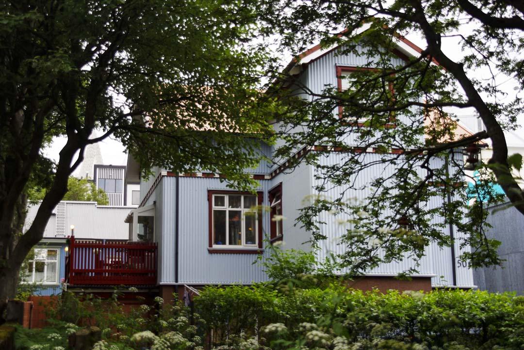 maison dans le centre ville de Reykjavik