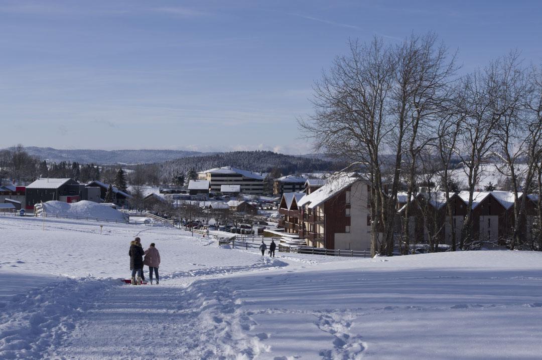 la station de ski de Métabief dans le Haut-Doubs