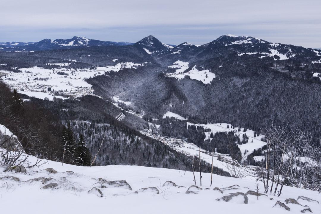 panorama sur le Jura Suisse
