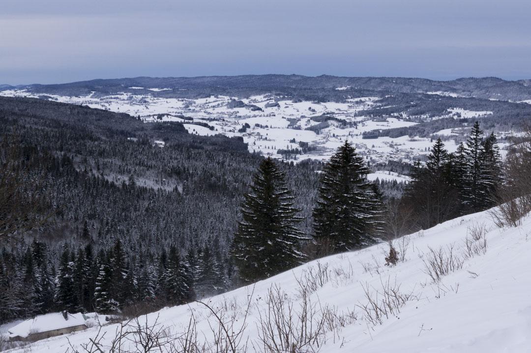 panorama sur les Montagnes du Jura