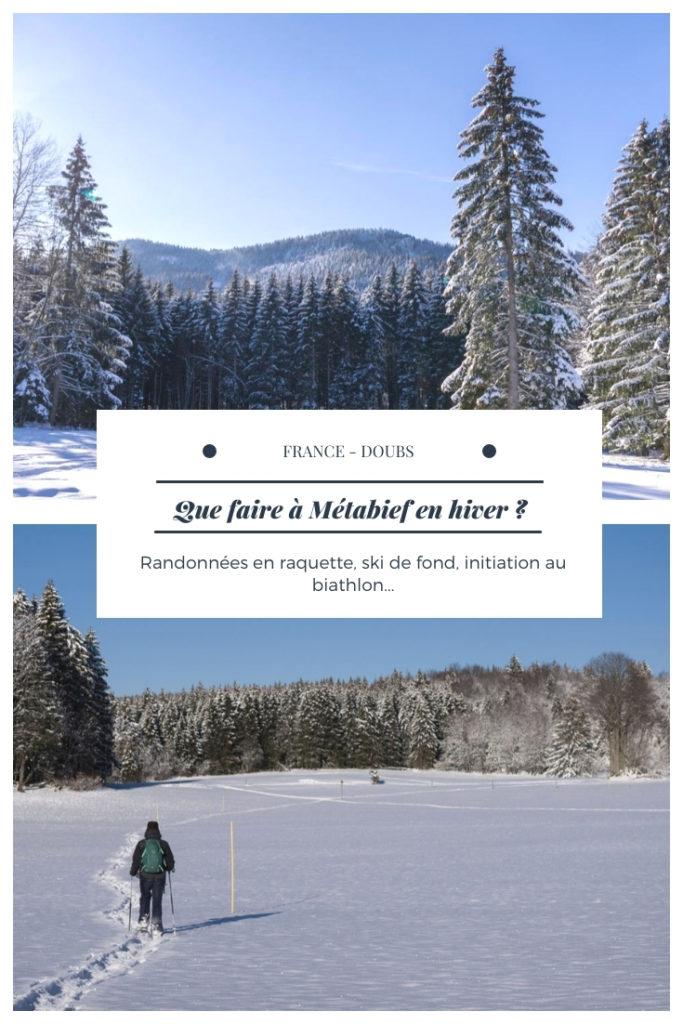 Que faire à Métabief en hiver ? Découverte d'une station familiale des Montagnes du Jura facilement accessible en transport en commun dans le Haut-Doubs