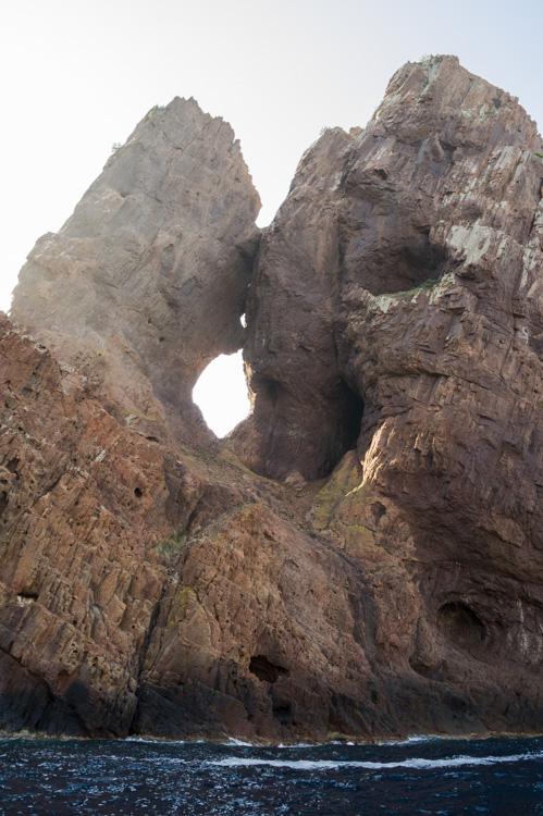 le rocher du baiser dans la réserve naturelle de la Scandola