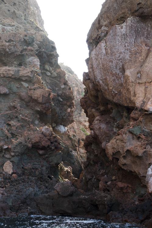 Roches dans la Réserve Naturelle de la Scandola