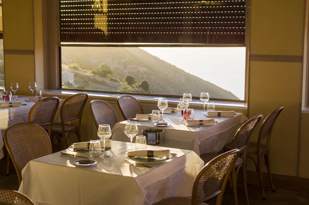restaurant de l'hôtel des Roches Rouges