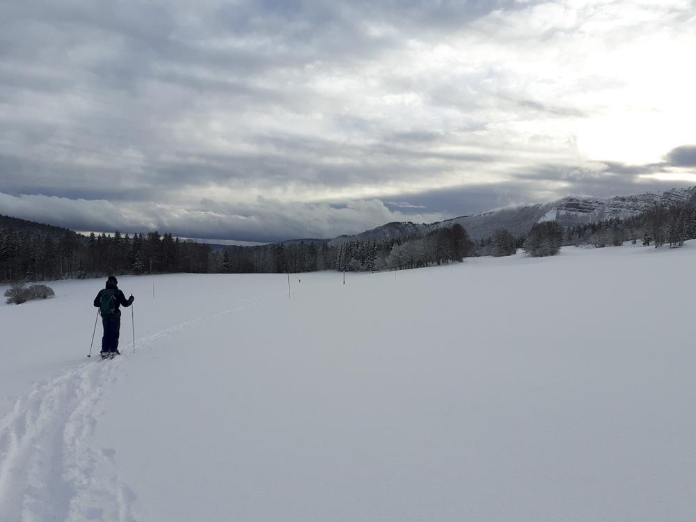 Ski de Fond au Mont Ramey - Métabief