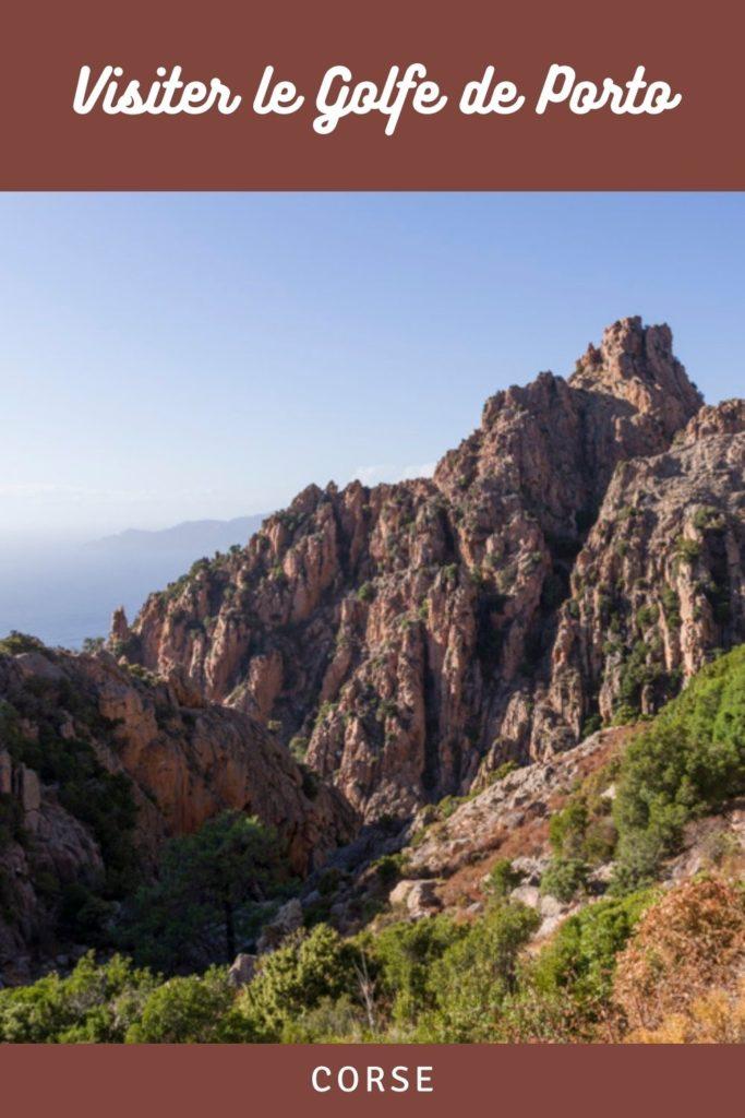 Que voir autour du Golfe de Porto en Crose ? Le Capo Rosso, le Golfe de Girolata et la Réserve Naturelle de la Scandola