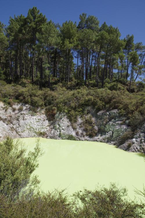 Wai-O-Tapu Thermal Wonderland près de Rotorua