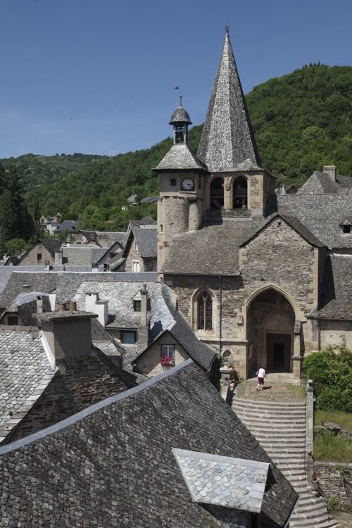 Eglise du centre-ville d'Estaing