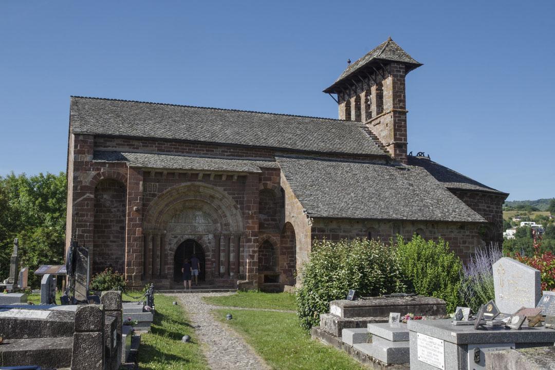 L'Eglise Romane de Perse à Espalion