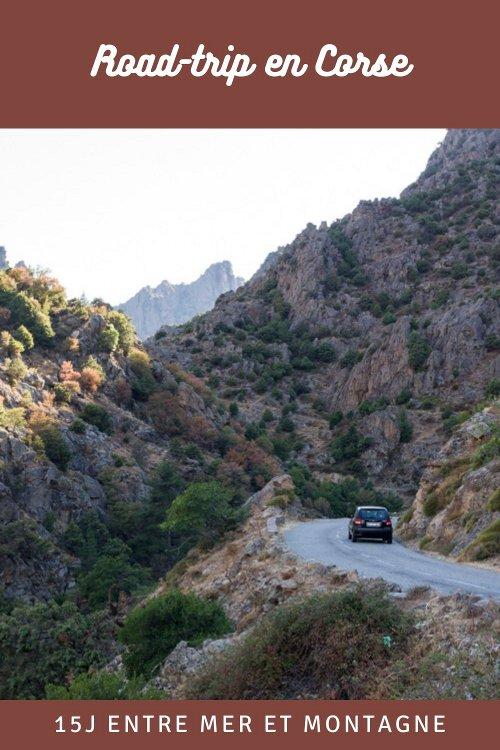 Itinéraire pour une road-trip en Corse : 15 jours entre mer et montagne