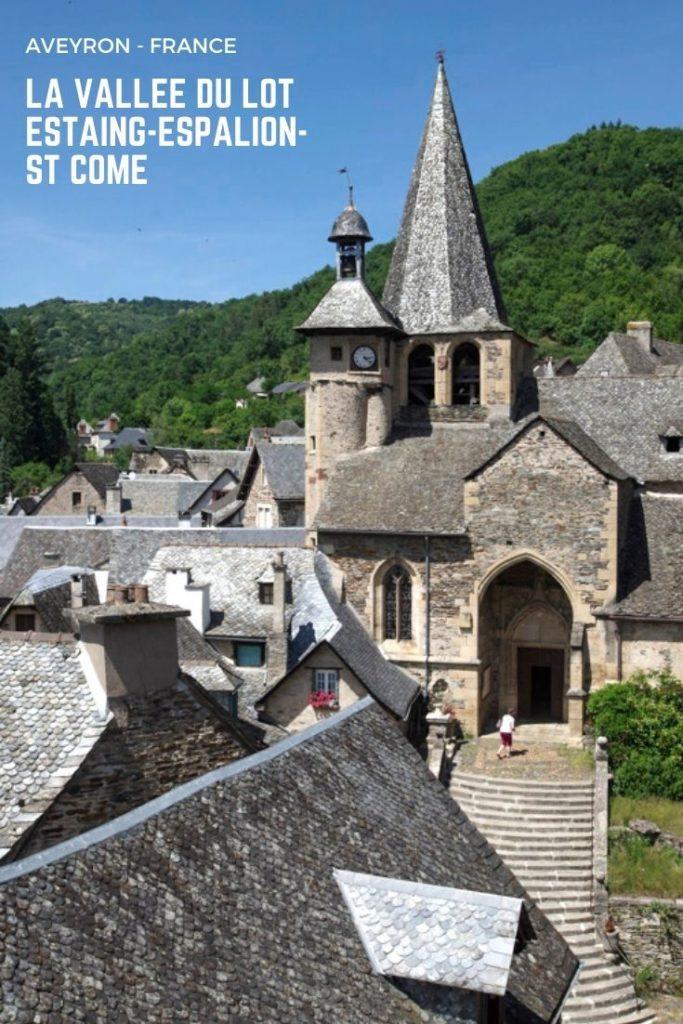 Que voir dans la vallée du Lot en Aveyron ? Visite d'Estaing, d'Espallion et de Saint Come d'Olt