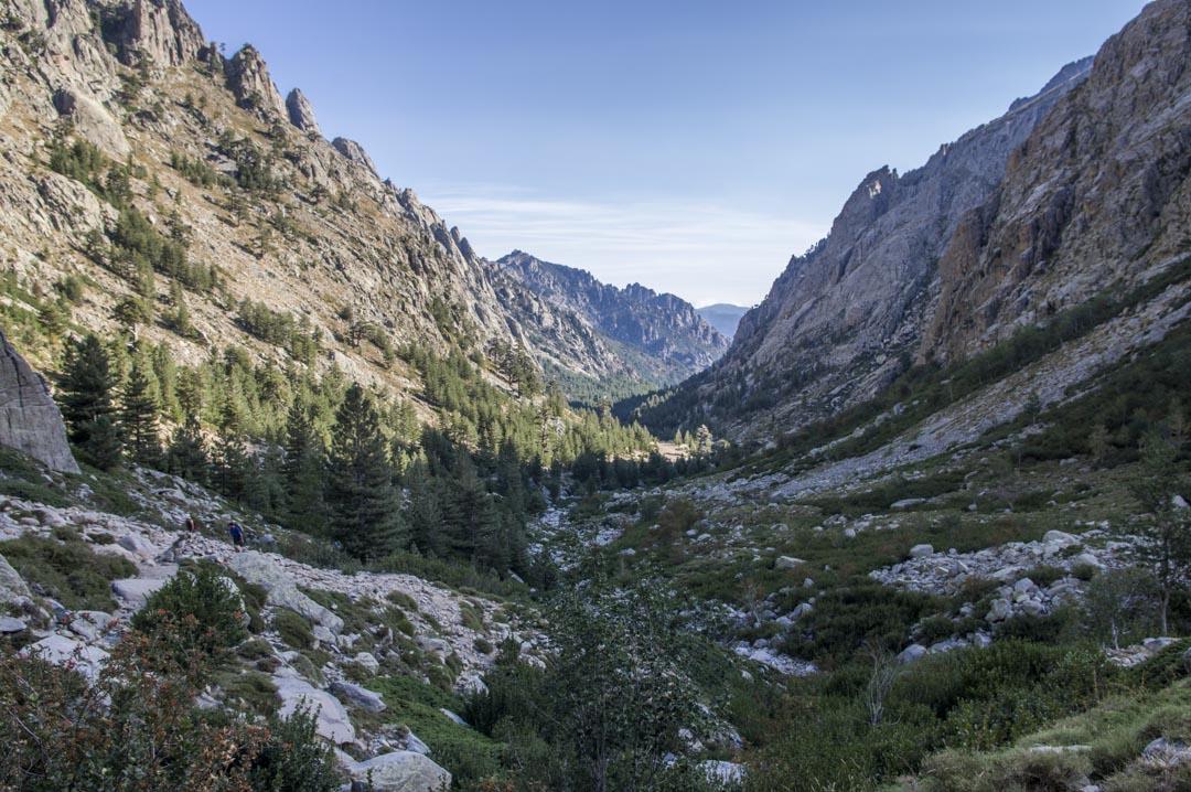 La vallée de la Restonica en Corse