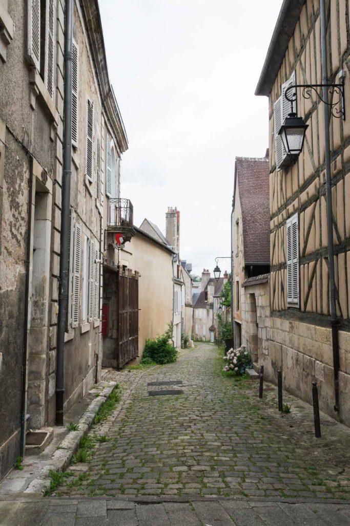 balade dans le centre médiéval de Bourges
