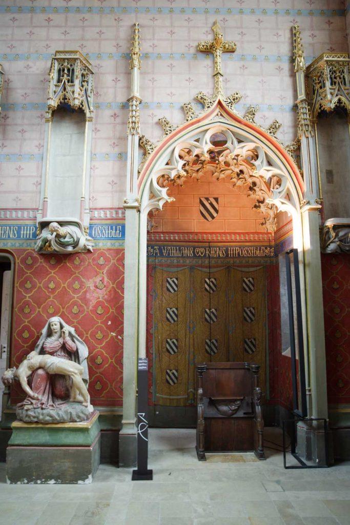Chapelle du Palais Jacques Coeur à Bourges
