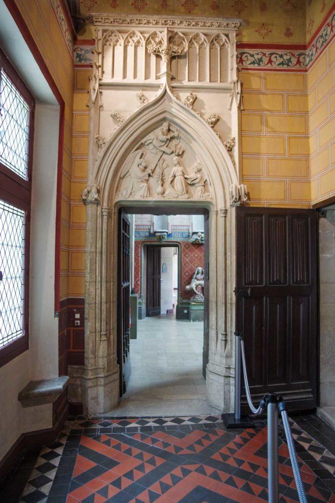 couloir du Palais Jacques Coeur à Bourges