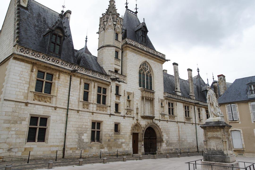 le palais Jacques Coeur à Bourges
