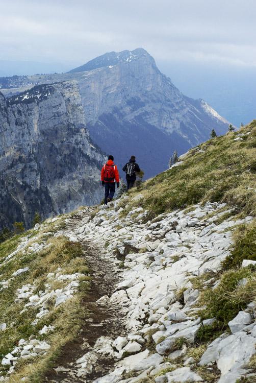 randonnée au pic saint michel dans le Massif du Vercors
