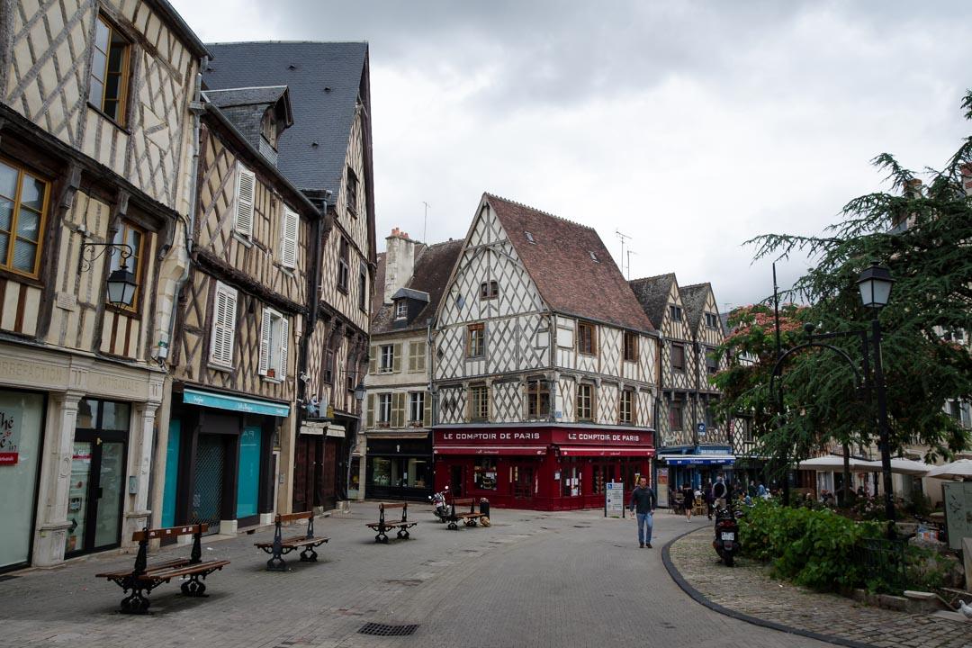 Place Gordaine à Bourges