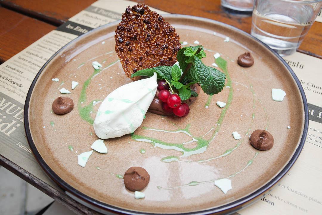 Restaurant la Gargouille à Bourges : dessert