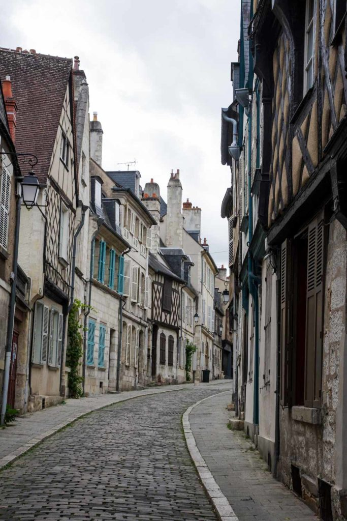 rue bourbonnoux à Bourges