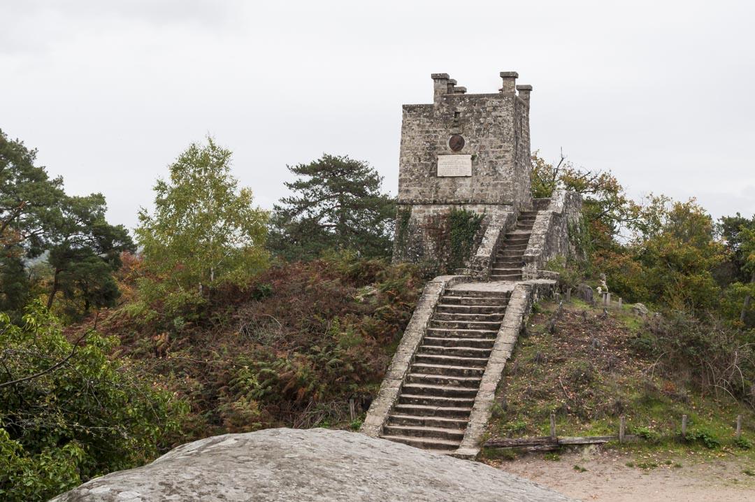 Tour Dénécourt dans la foret de Fontainebleau
