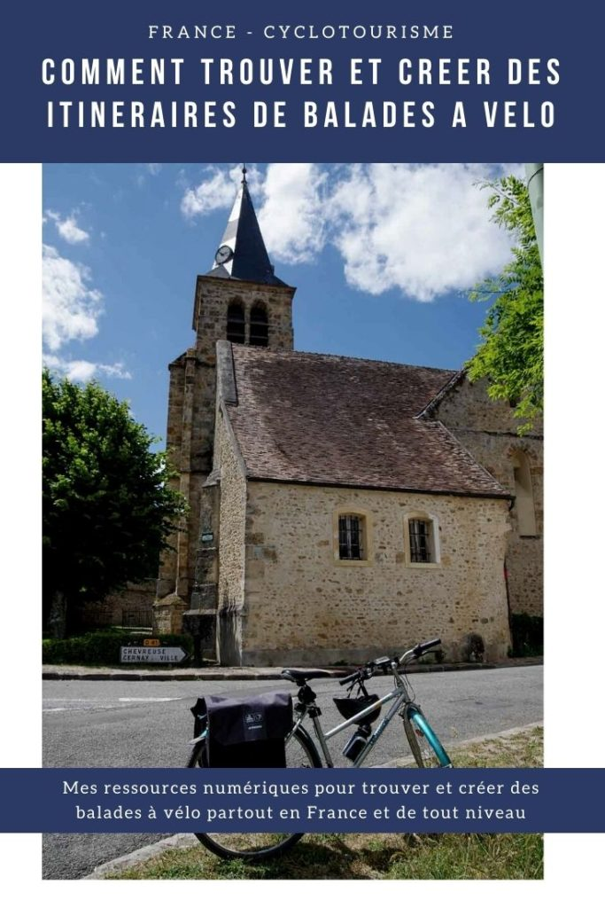 Comment trouver des idées d'itinéraires de balade en vélo à faire près de chez soi ou partout en France ?