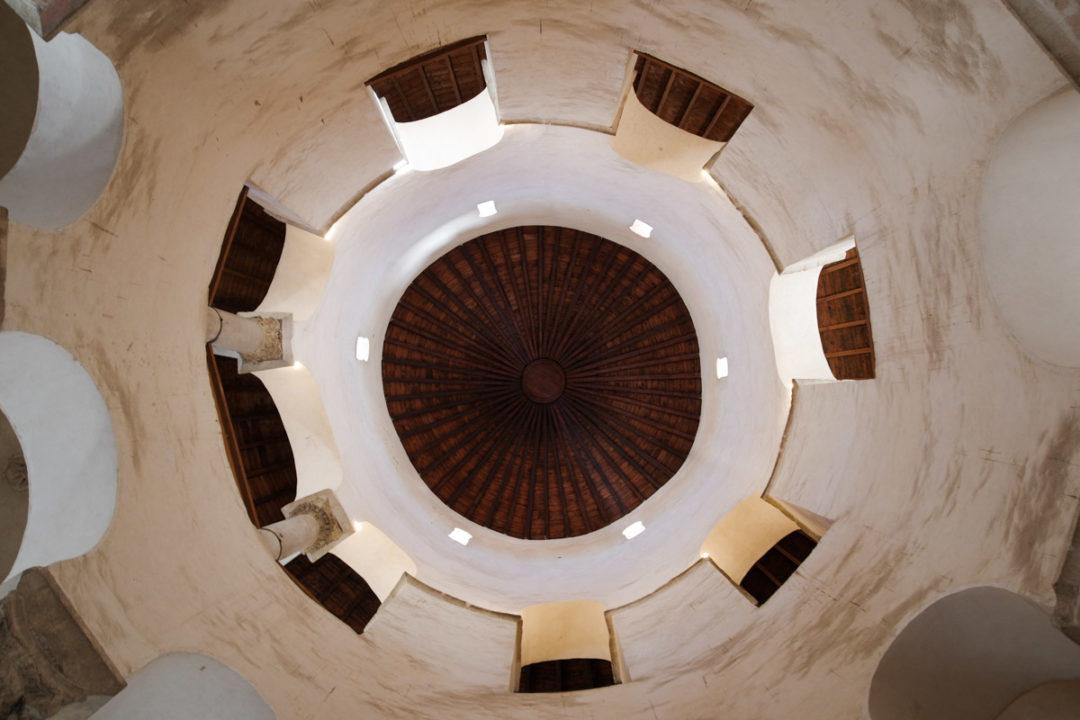 coupole de la basilique Donat à Zadar