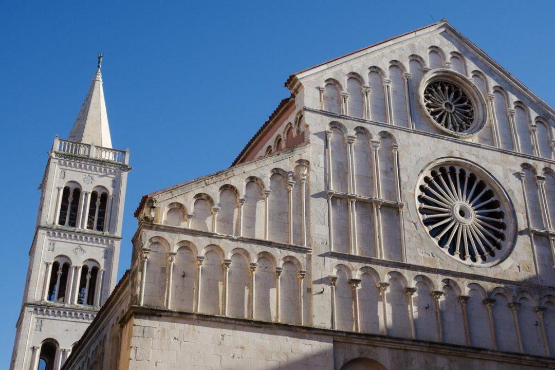 Cathédrale Sainte Anastasia à Zadar