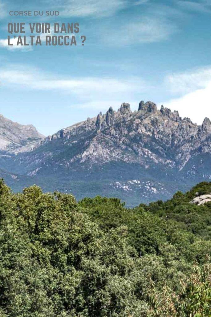 Que voir dans la région de l'Alta Rocca en Corse autour des Aiguilles de Bavella ? Visites de villages pittoresques et sites préhistoriques