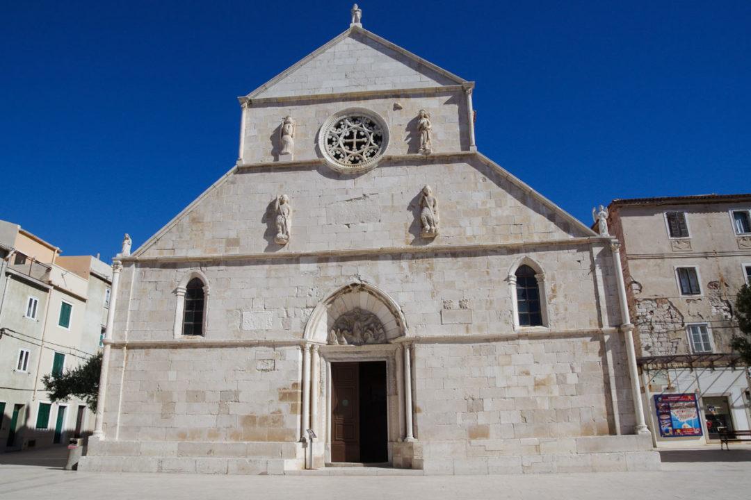 Eglise de Pag en Croatie