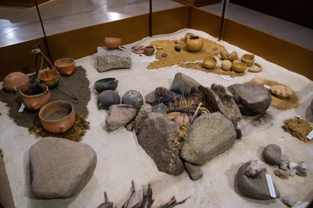 Le musée archéologique de l'Alta Rocca à Levie