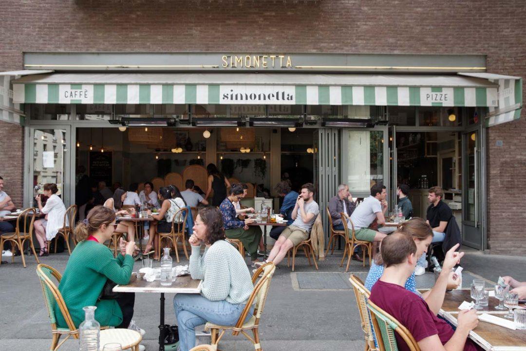 restaurant pizzeria Simonetta sur le Quai de la Marne