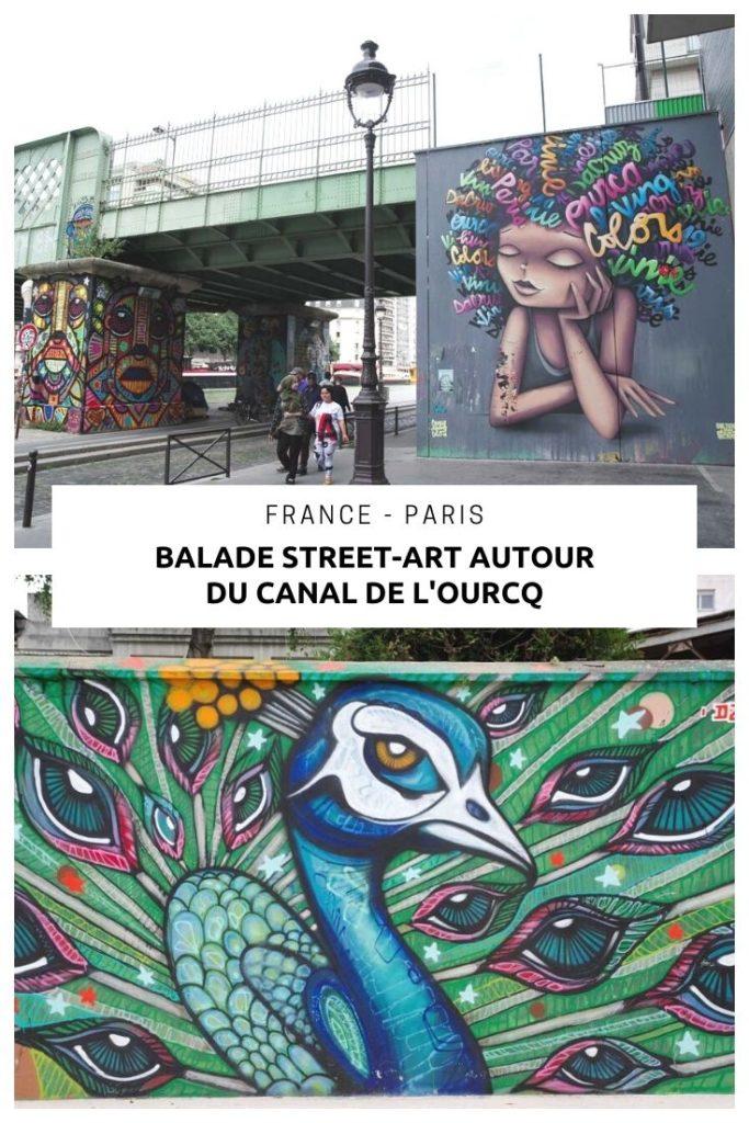 Balade Street Art autour du Canal de l'Ourcq