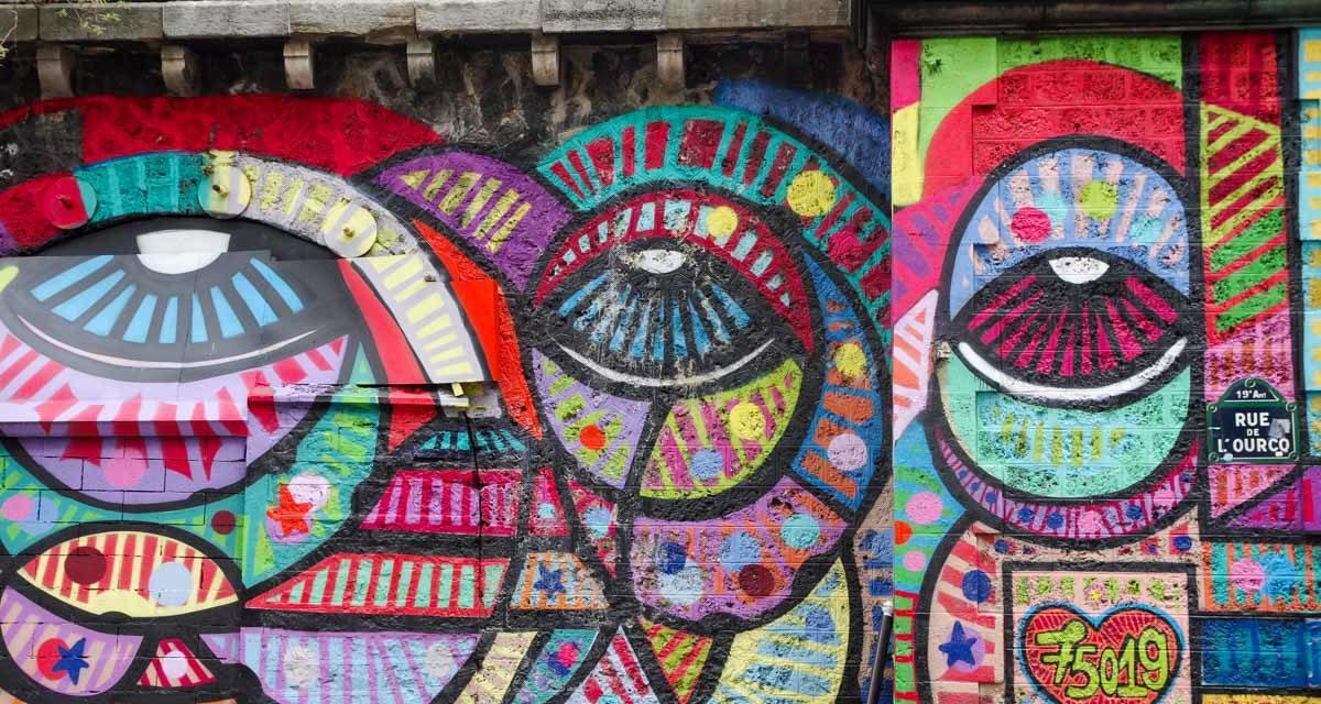 Balade Street art autour du Canal de l'Ourcq dans le Nord-Est Parisien