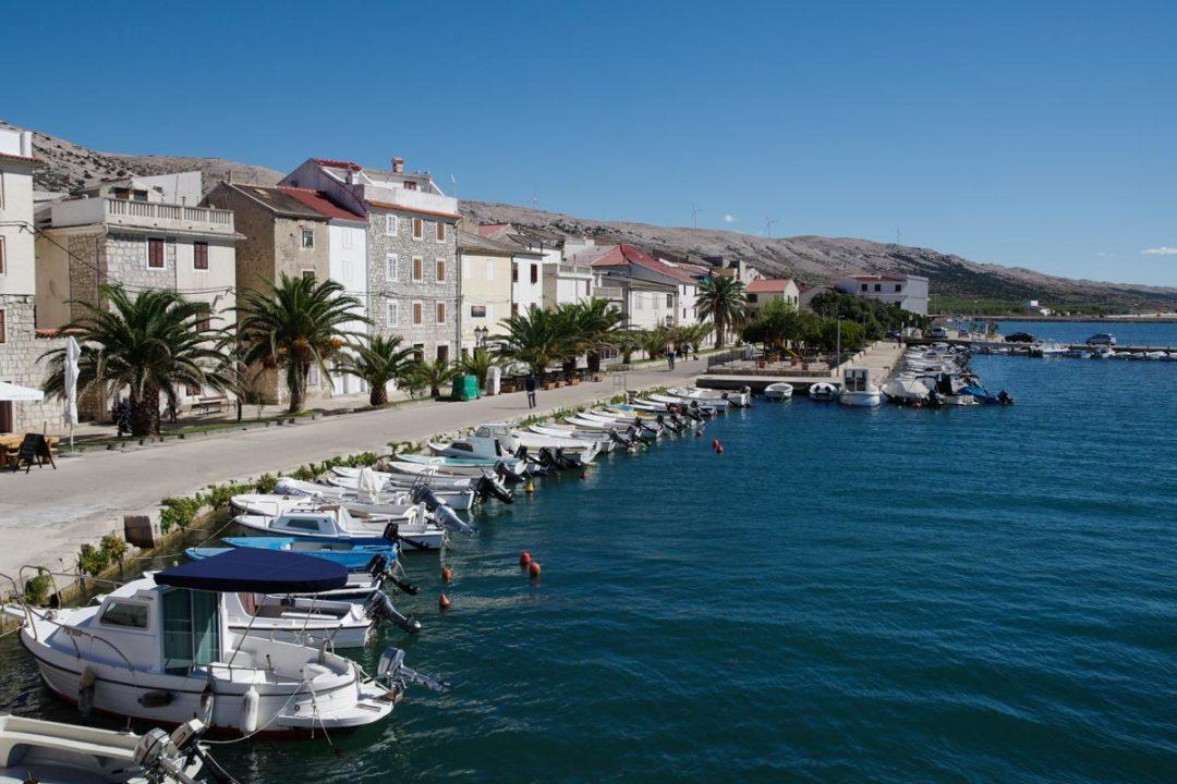 le village de Pag en Croatie