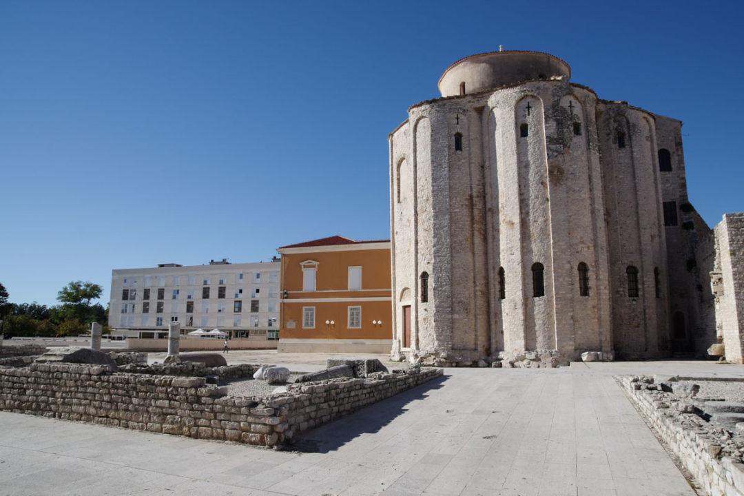 la basilique Donat à Zadar