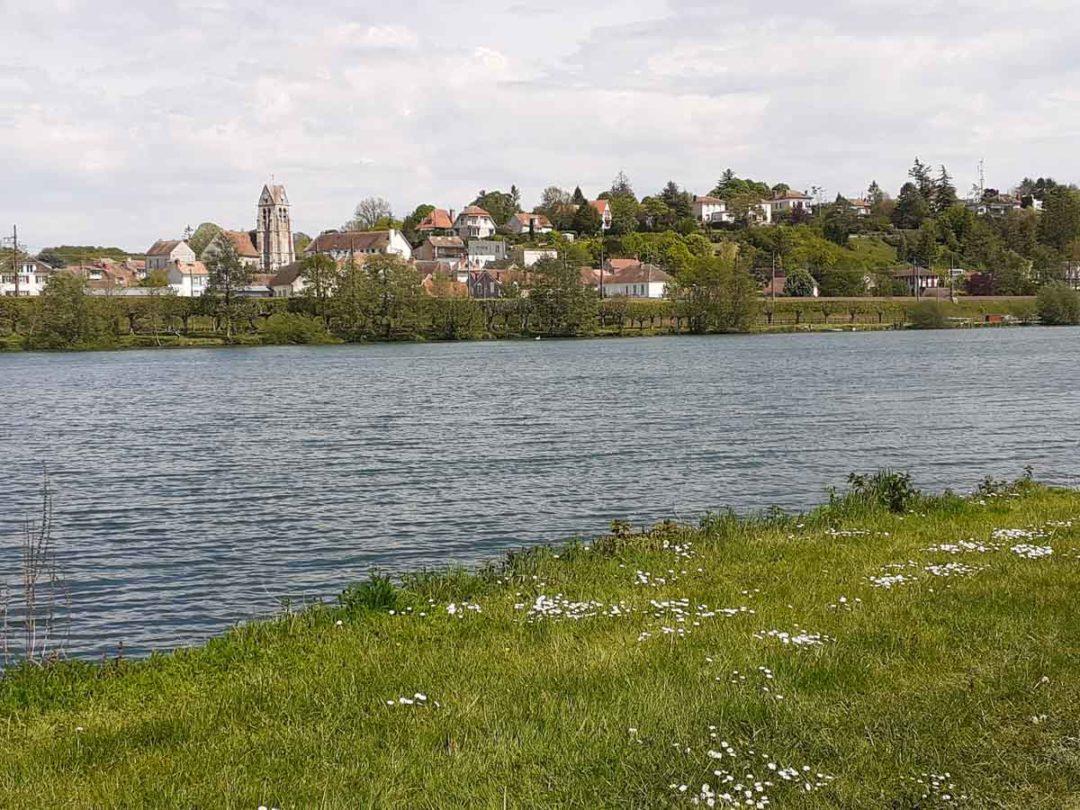 les villages du bord de Seine