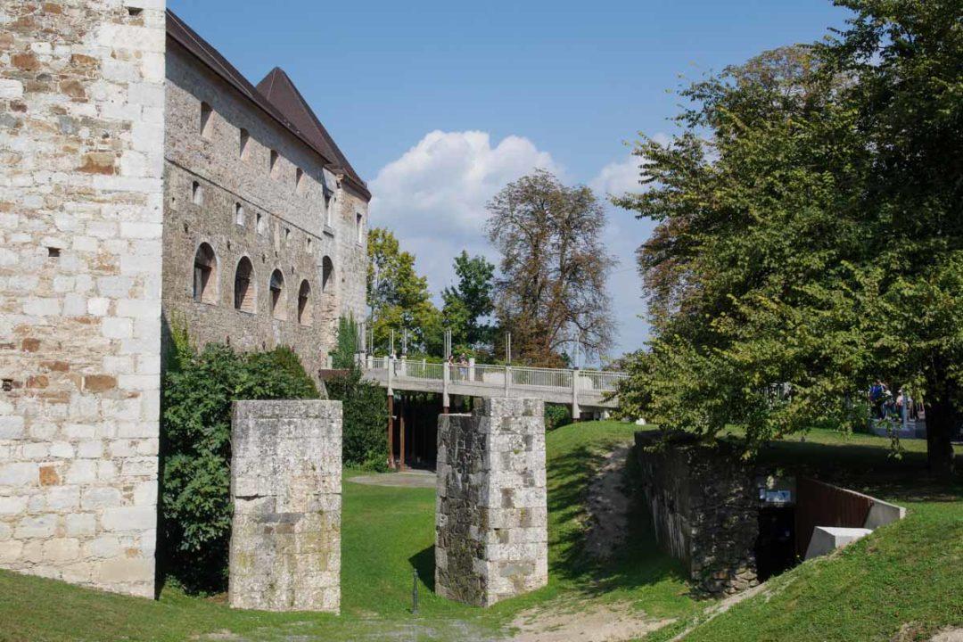 le château de Ljubjana