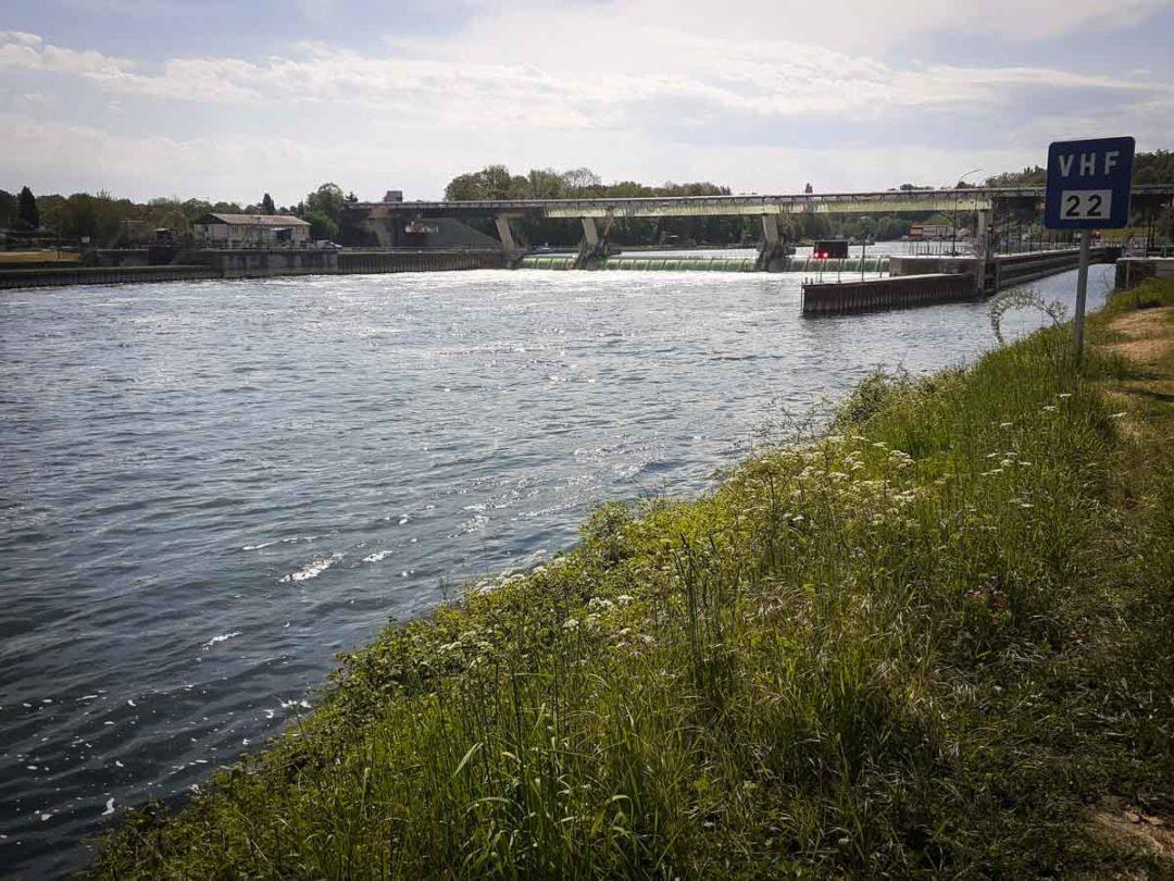 Ecluse du plessis chenet sur la Seine