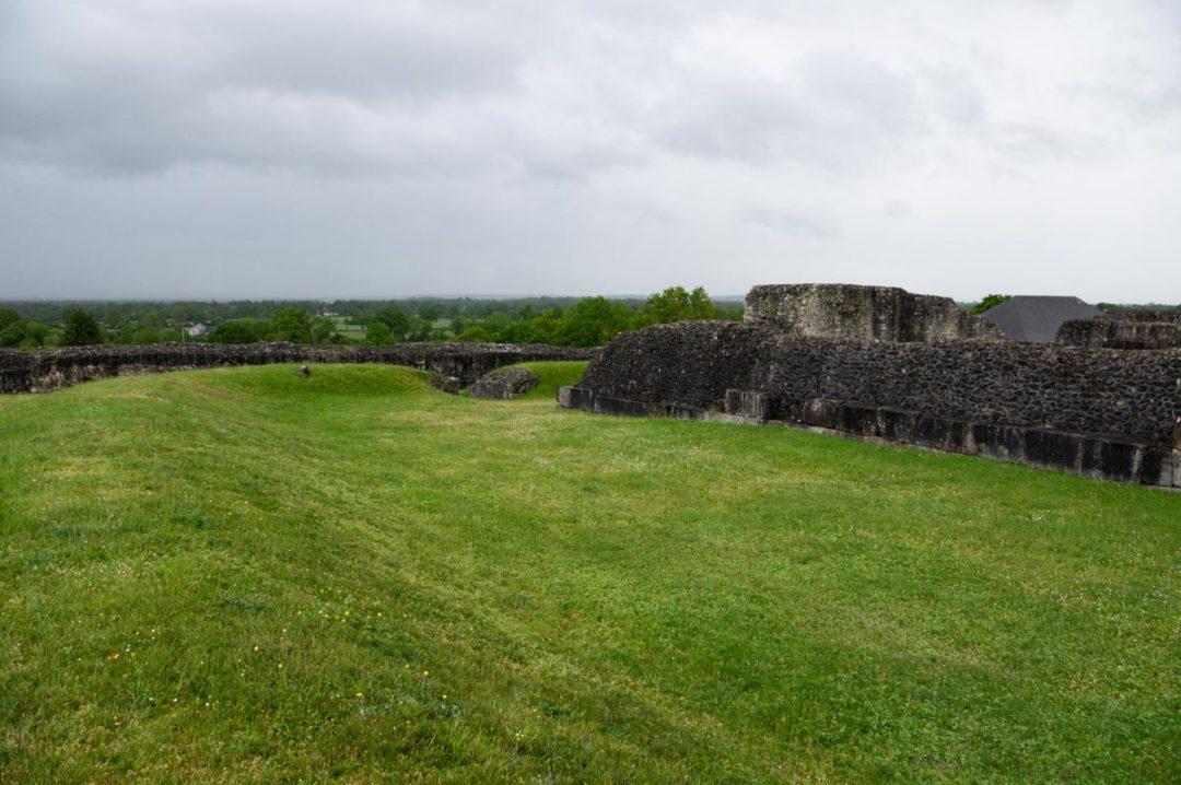 la forteresse gallo-romaine de Jublains