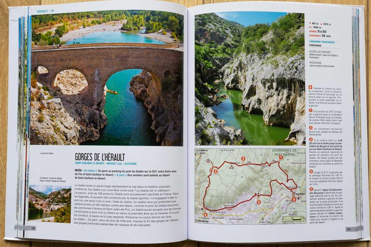 livre les plus belles randonnée - Chamina Editions