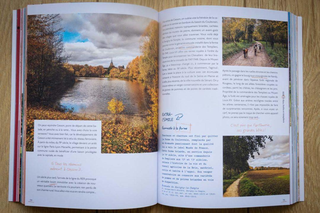 livre des randonnées autour de Paris