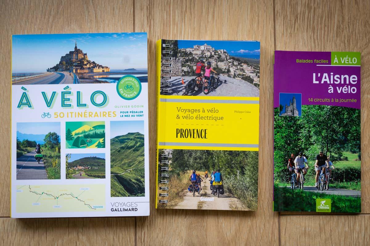 livre voyager à vélo en France