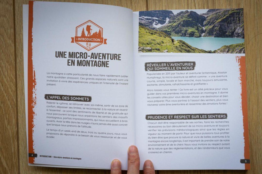livre week end evasion montagne