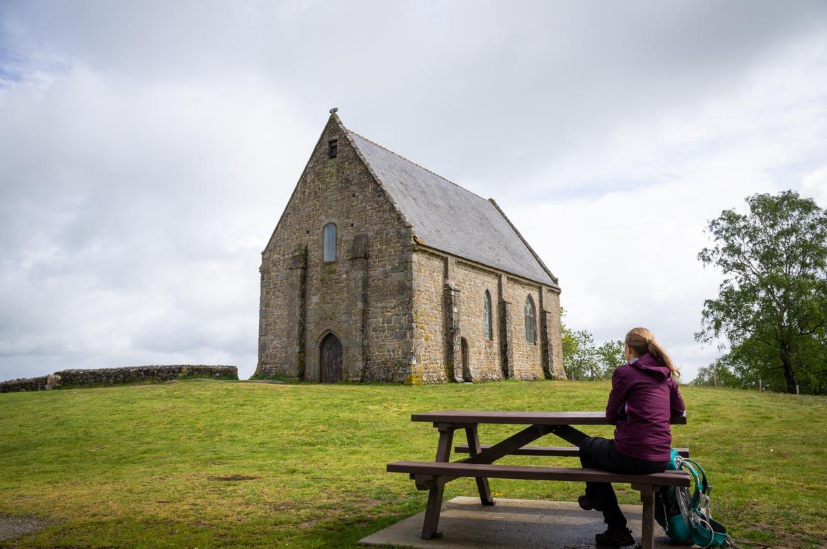 la chapelle du Montaigu en Mayenne