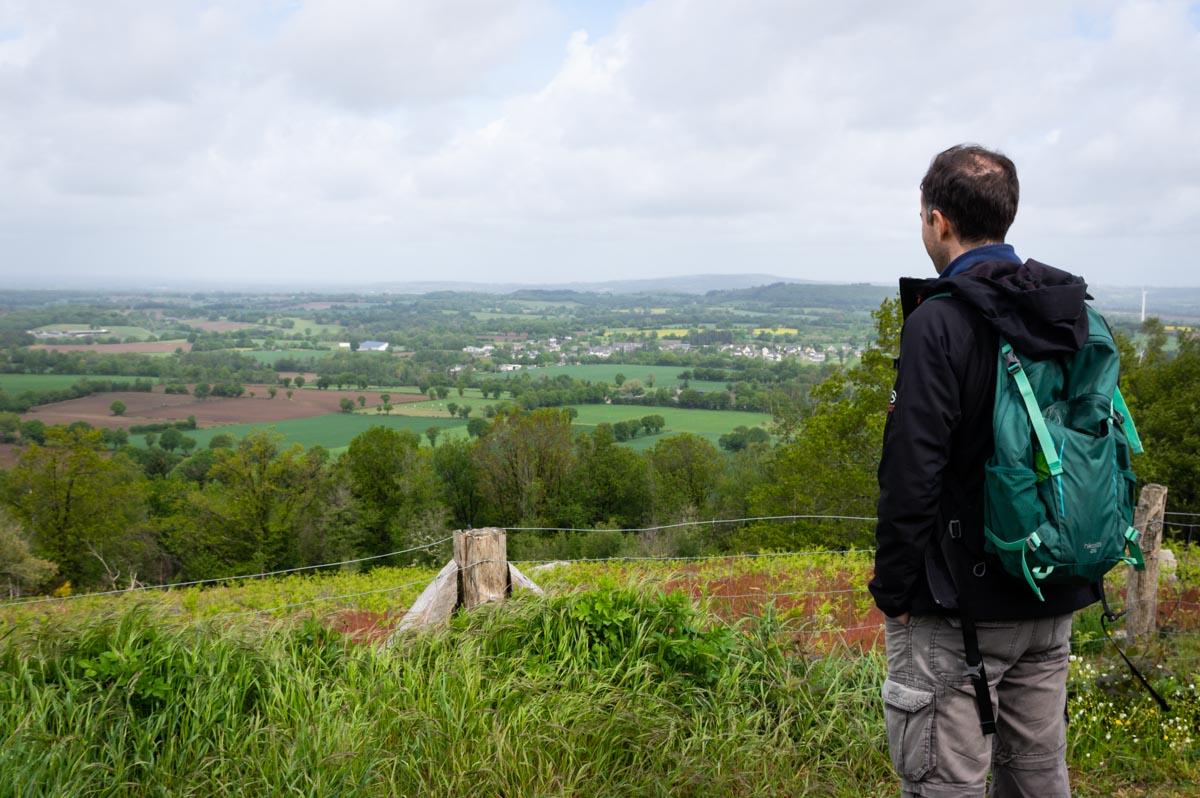 la butte du Montaigu en Mayenne